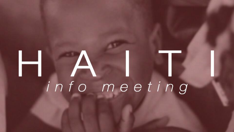 Family Haiti Info Meeting
