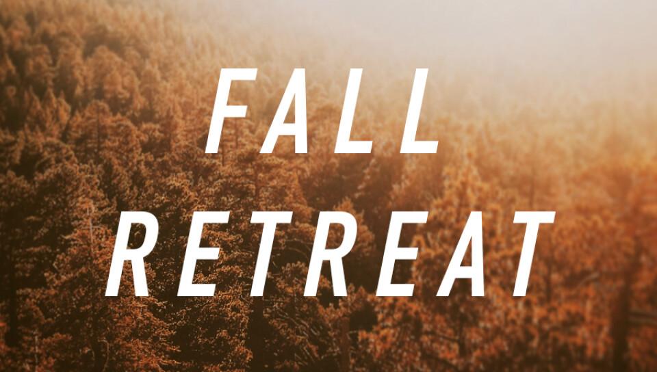 Middle School Fall Retreat