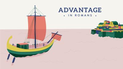 Advantage in Romans