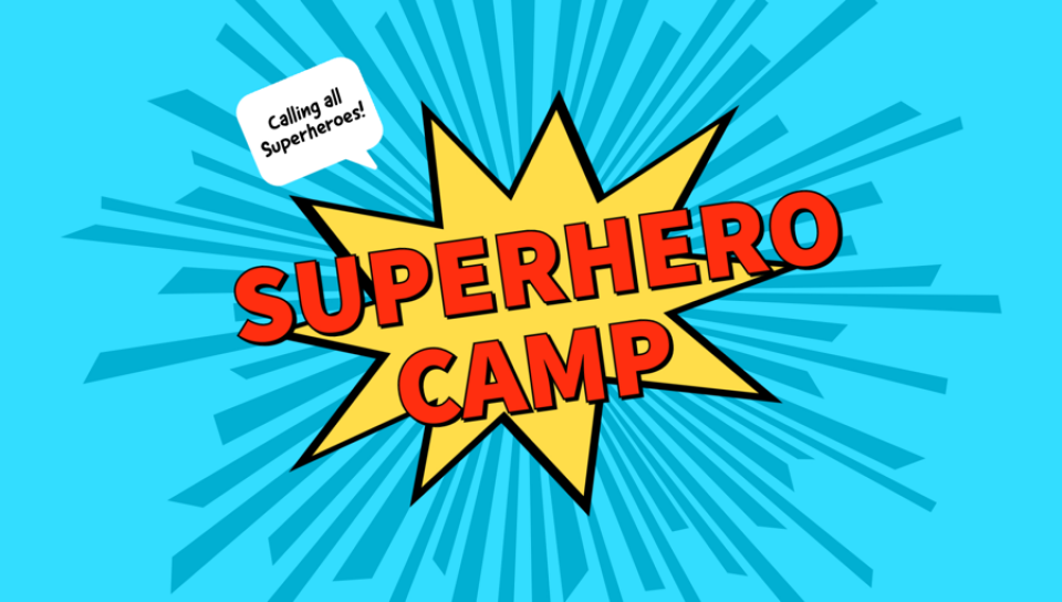 Preschool Superhero Camp 2021